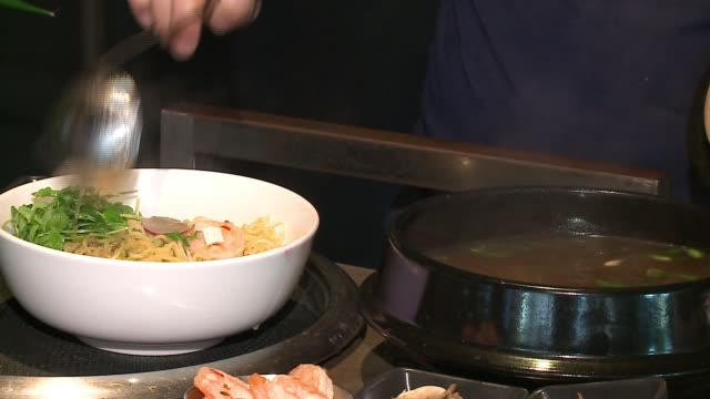 wgn in chicago on feb 19 2017 - ramen noodles stock videos & royalty-free footage