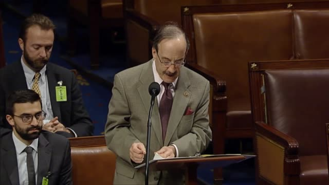In debate on a resolution condemning a terrorist attack on Paris the week prior New York Congressman Eliot Engel ranking democrat on the house...