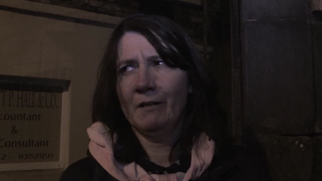 in dundalk an irish town near the border with northern ireland people react after british lawmakers massively reject theresa may's brexit deal which... - legislator stock videos & royalty-free footage