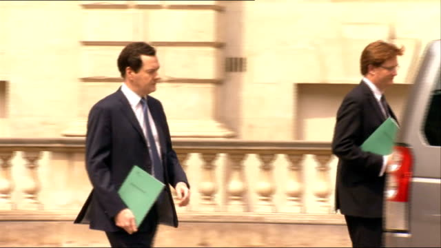 stockvideo's en b-roll-footage met nhs in england faces possible strike action over plan to scap 1 per cent pay rise lib ext george osborne mp and danny alexander mp out of hm treasury... - mogelijk