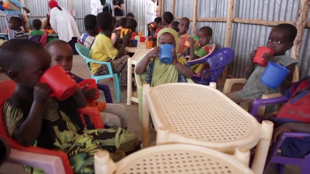 In Ethiopian refugee camps organisations are trying to combat malnutrition but they say that funds from the international community are needed in...