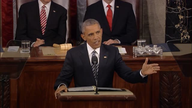 In his final State of the Union address President Barack Obama says that America has the strongest economy in the world in the middle of the longest...