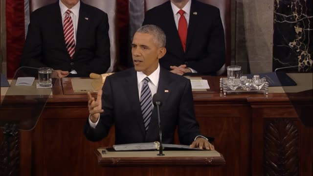 In his final State of the Union address President Barack Obama says that the 20th century world order is struggling to keep up with a new reality...