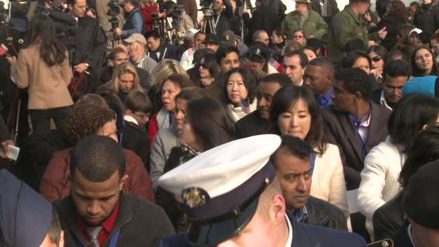 in honor of her status as a symbol of enduring hope and welcome 125 immigrants will become new us citizens on liberty island the morning of oct 28... - 光栄点の映像素材/bロール