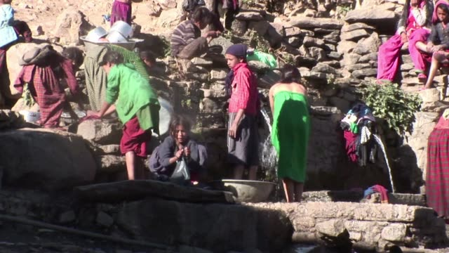 in impoverished villages high in the himalayas cut off from the modern world girls are still routinely kidnapped and forced into marriage in a... - dalit stock videos and b-roll footage