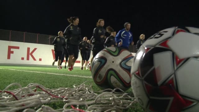 in just three years since the birth of their club the female footballers of emina have found their place among the top three teams in bosnia and defy... - patriarchy stock videos & royalty-free footage