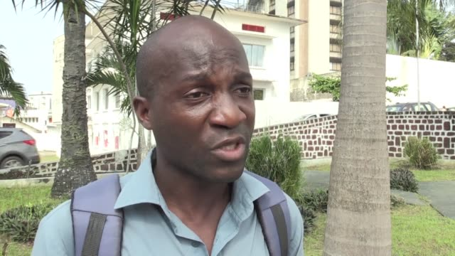 in libreville the day after an attempted coup attempt by military personnel many gabonese citizens say they understand the motives of the would be... - coup d'état stock videos & royalty-free footage
