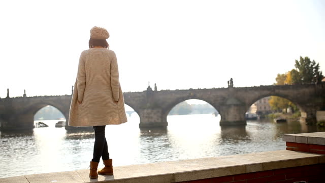 in love with prague - oggetto creato dall'uomo video stock e b–roll