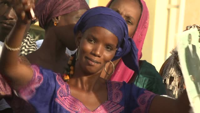 in mauritania there has never been an abolition of slavery according to biram ould dah ould abeid a candidate running in saturdays presidential... - mauritania stock videos & royalty-free footage