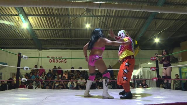 in mexico the popular mixed matches known as the war of the sexes in which three women wrestlers battle three far bigger men could be a metaphor for... - battle of the sexes concept stock videos and b-roll footage