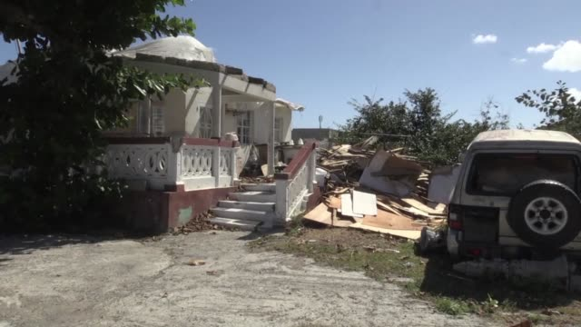 In Orleans on the Caribbean island of SaintMartin Hurricane Irma struck like a tsunami
