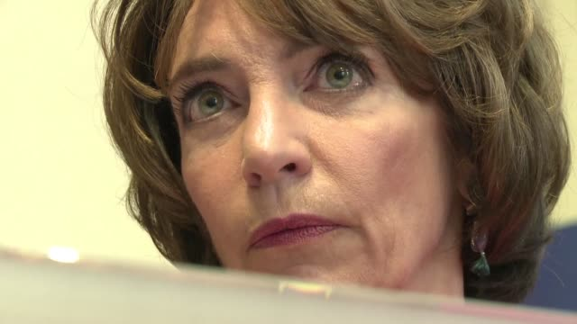 in repsonse to a clinical trial that turned deadly in january french minister of health marisol touraine has given the biotrial research institute in... - rennes stock videos & royalty-free footage