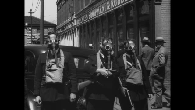 in san francisco california 700 policemen battle 3000 union pickets when business interests attempt to open forcibly this strikeparalyzed port to... - 1934 stock videos and b-roll footage