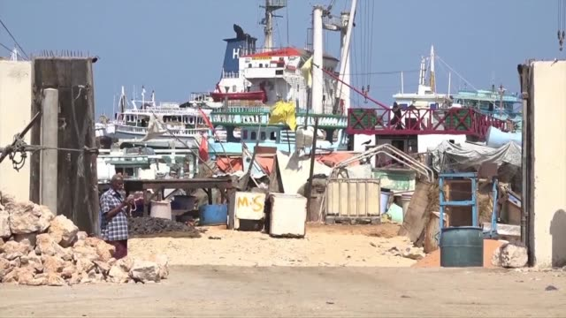stockvideo's en b-roll-footage met in somalia a gunman killed the manager of the port of bossasso in the semi autonomous puntland state - hoorn van afrika