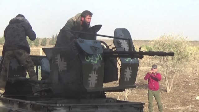 In southern Syria rebel and islamist factions are fighting the Khaled Bin Al Walid Army an armed group which has sworn allegiance to the Islamic...