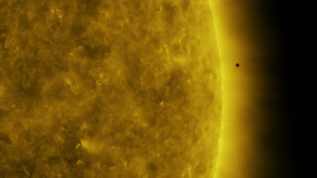 in space-november 11, 2019: astronomic event of planet mercury passing in front of the sun. science studies the planet and the sun during the cosmic... - atmosphere filter stock videos & royalty-free footage