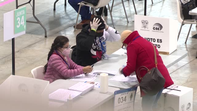 in spain, more than 179,000 ecuadorians are eligible to vote in the elections, accounting for 43.78% of the vote abroad, according to the ministry of... - ecuadorian ethnicity stock videos & royalty-free footage