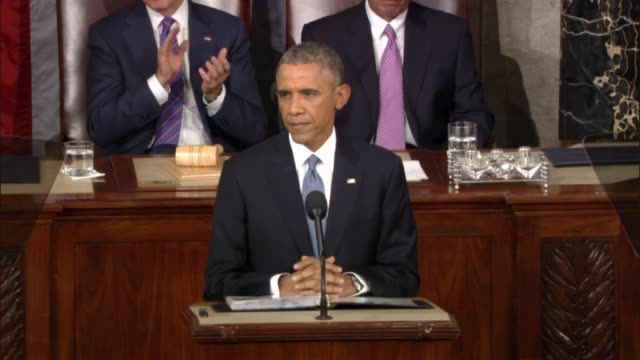 In State of the Union address President Obama announces end of decadelong military engagement in initial base of al Qaeda