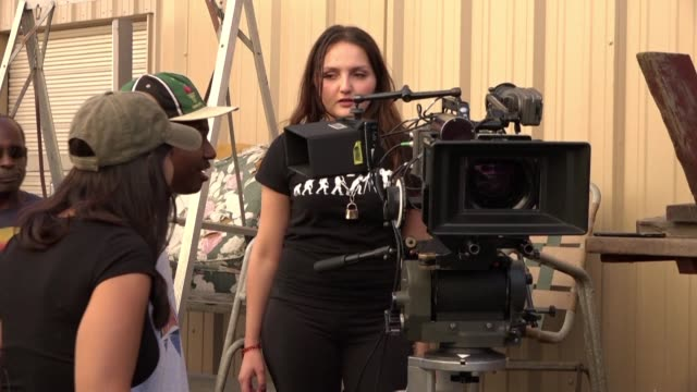 in the aftermath of the oscarssowhite campaign the academy of motion picture arts and sciences has set up a program for young people from... - academy of motion picture arts and sciences stock-videos und b-roll-filmmaterial