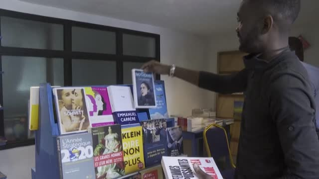 DRC: The bookseller of Kinshasa: A lone fight to help the DRC's bookworms