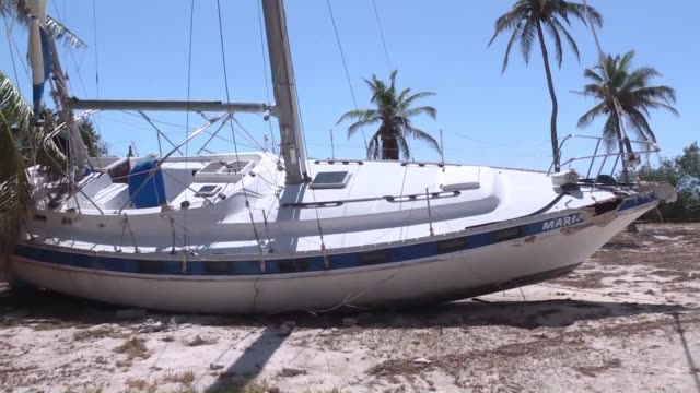 in the florida keys hurricane irma has caused a lot of damage especially amongst the islamorada community where dozens of residents lost their houses - the florida keys stock videos & royalty-free footage