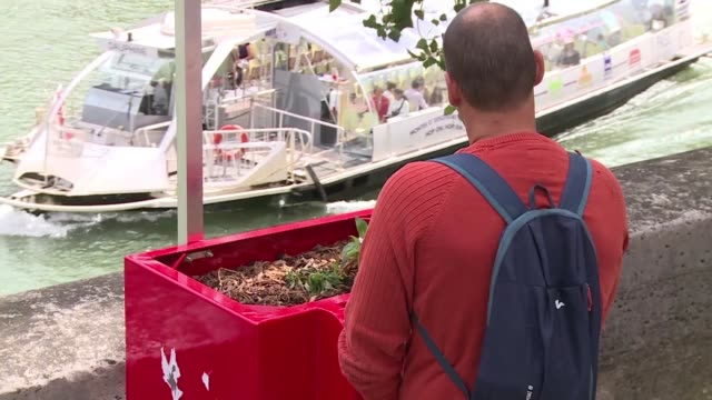 in the heart of paris a radical experiment in urine management is taking place new eco friendly urinals which are prompting titters from some and... - urinal stock videos & royalty-free footage