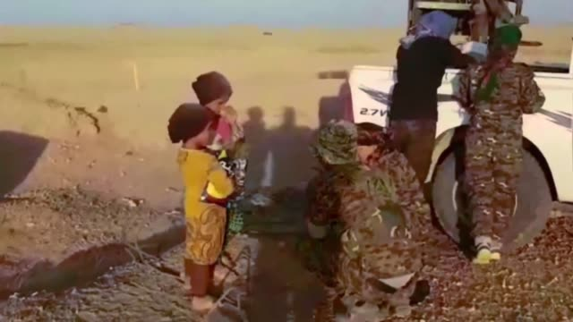 in the last few days the syrian democratic forces alongside their coalition partners have liberated more than 300sq kilometers in the dashisha region... - isil konflikt stock-videos und b-roll-filmmaterial