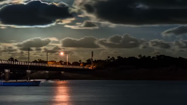 in the lead-up to the supermoon expected november 14 a photographer released a timelapse video of the september 28 supermoon, shot from the southern... - southern hemisphere stock videos & royalty-free footage