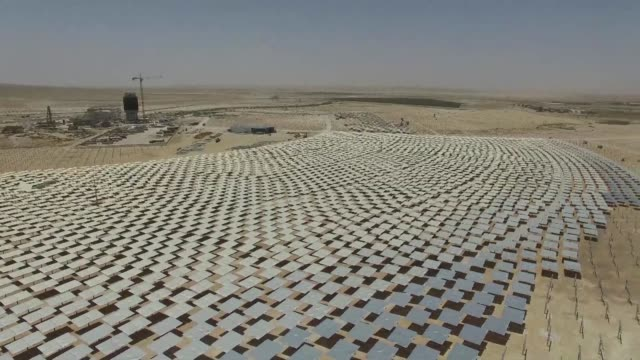 In the middle of southern Israel's desert engineers are hard at work building the world's tallest solar tower reflecting the countrys high hopes for...