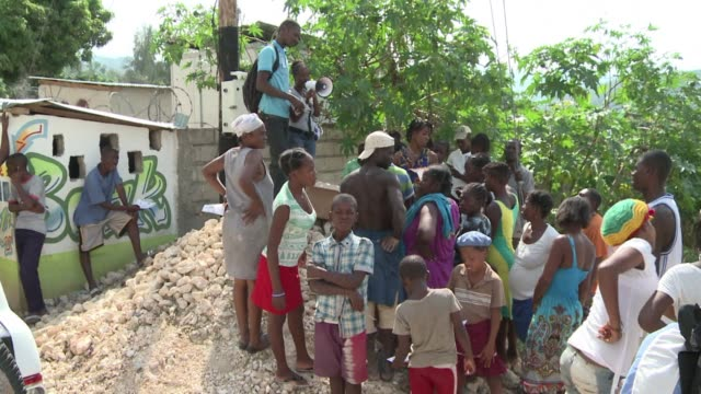 vídeos y material grabado en eventos de stock de in the months following the 2010 earthquake haiti was hit with a second disaster in the form of a cholera epidemic - hispaniola