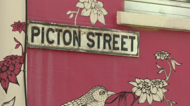 in the montpelier area of bristol england an area with a reputaion for being bohemian and 'alternative' - montpelier  vermont stock videos and b-roll footage