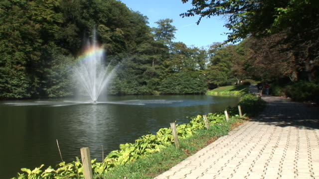 hd: in the park - fountain stock videos & royalty-free footage