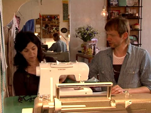 in the past, sewing was seen as an obligation or a constraint. paris, paris, france. - sewing stock videos & royalty-free footage