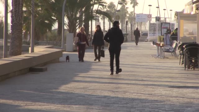 In the picturesque Catalan seaside town of Calafell residents voice hope that Thursday's vote will open the way for talks between the separatist and...