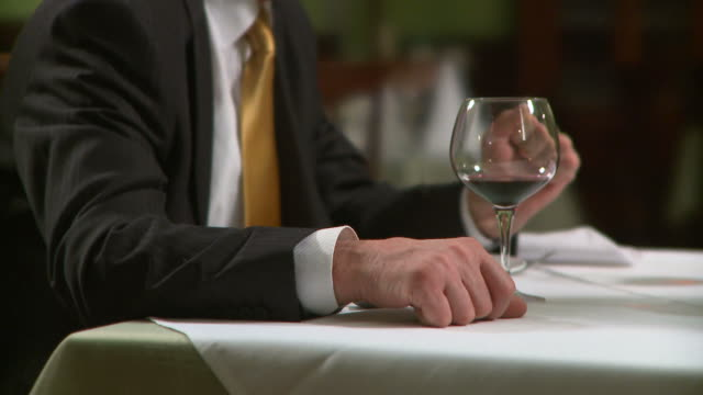 hd: in the restaurant - business lunch stock videos & royalty-free footage
