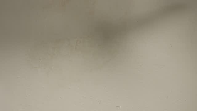 vídeos de stock e filmes b-roll de in the shadow of a rotating ceiling fan - sombra