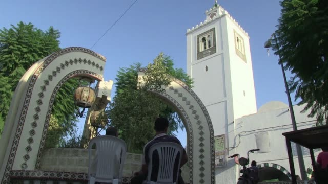 in the small town of menzel bouzelfa the mausoleum has become a target of the salafi movement voiced sufis targetted by tunisian salafi on october 04... - mausoleum stock videos and b-roll footage