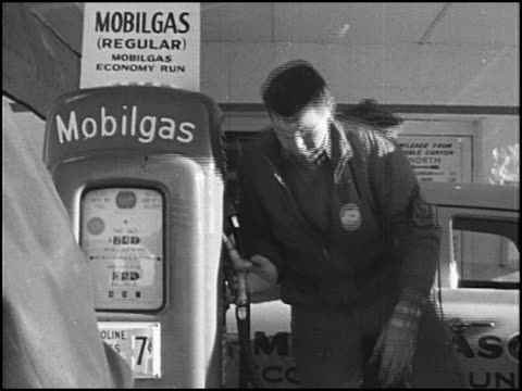 / in this 4th of 5 segments, studebakers drive through the grand canyon and make their first stop at a marble canyon mobilgas station / the... - grand canyon stock videos & royalty-free footage