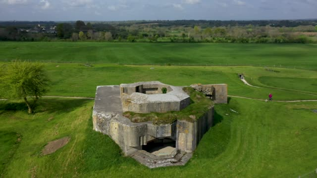 FRA: Aerial Views Of D-Day Normandy Landmarks