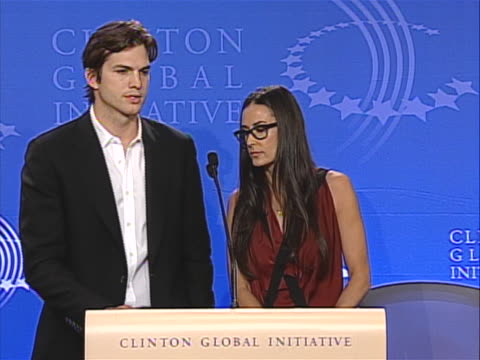 "in this clip ashton says: ""we recently learned that 76 percent of the underage girls that are sold in the commercial sex trade, are sold online."" - ashton kutcher stock videos & royalty-free footage"