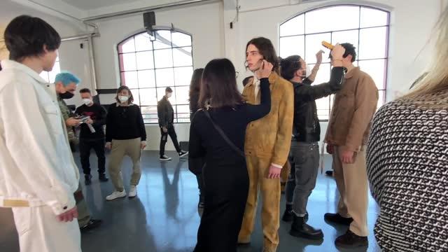 ITA: Men's Fashion Week F/W 2021/2022 - David Catalan - Backstage