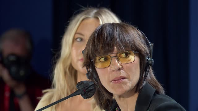ITA: Mona Lisa And The Blood Moon - Press Conference  - The 78th Venice International Film Festival