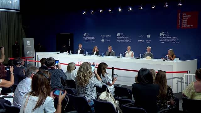 ITA: The Last Duel - Press Conference  - The 78th Venice International Film Festival