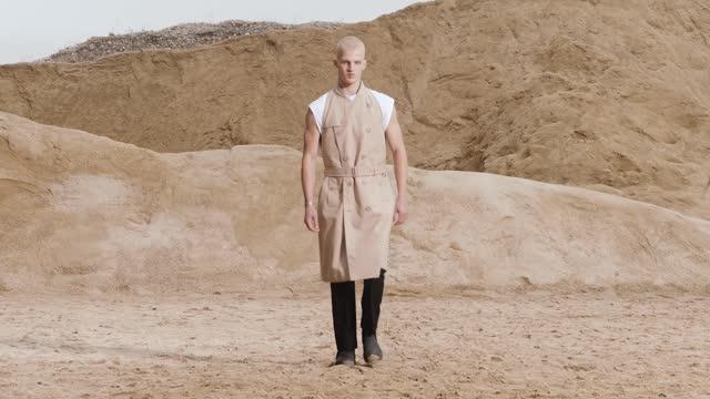 GBR: Burberry Spring/Summer 2021 Menswear Presentation