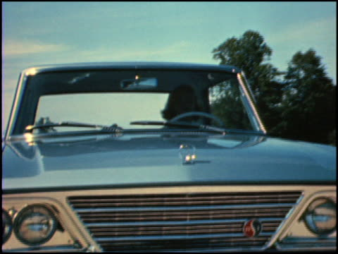 / in this promotional short, the narrator talks about all the mechanical improvements on the 1964 daytona / but he notes that women drivers will only... - narrating stock-videos und b-roll-filmmaterial