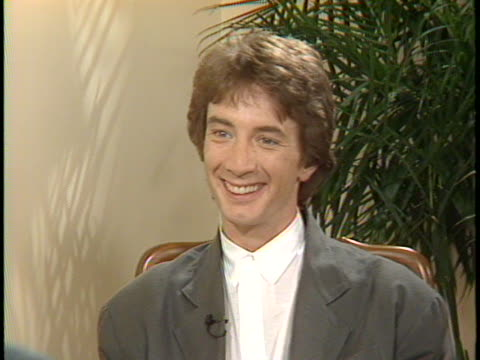 in this unedited interview, actor martin short talks about his latest film, innerspace , also starring dennis quaid and meg ryan. short discusses his... - martin short stock videos & royalty-free footage