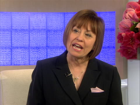 """in today show interview conservative political activist political action committee our voice organizer sharron angle discusses her book """"right angle""""... - political action committee stock videos & royalty-free footage"""