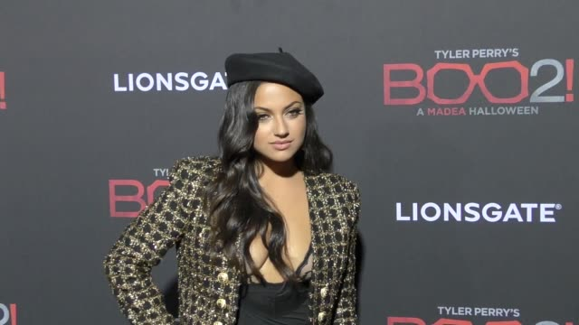 Inanna Sarkis at Lionsgate Presents The Los Angeles Premiere of Tyler Perry's 'Boo 2 A Madea Halloween' at LA LIVE on October 16 2017 in Los Angeles...