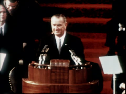 LBJ Inauguration on January 20 1965 in Washington DC