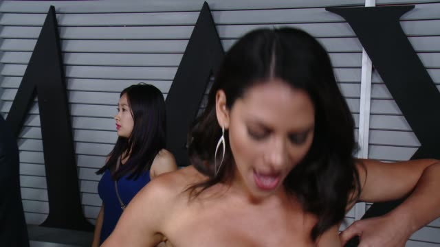 interview inbar lavi on her dress and on her personal hot 100 list at the maxim hot 100 and relaunch party at pacific design center on june 10 2014... - pacific design center stock videos and b-roll footage